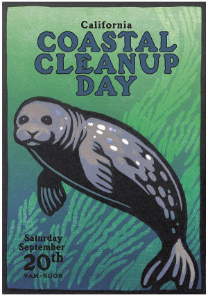 Citizen Science on Coastal Cleanup Day  with 3 Ocean Books