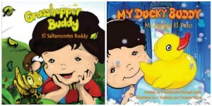My Grasshopper Buddy and My Ducky Buddy – A Multicultural Children's Book Day Review