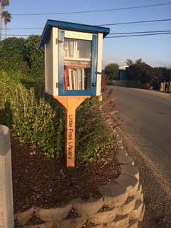 Little Free Library – a great place to meet the neighbors