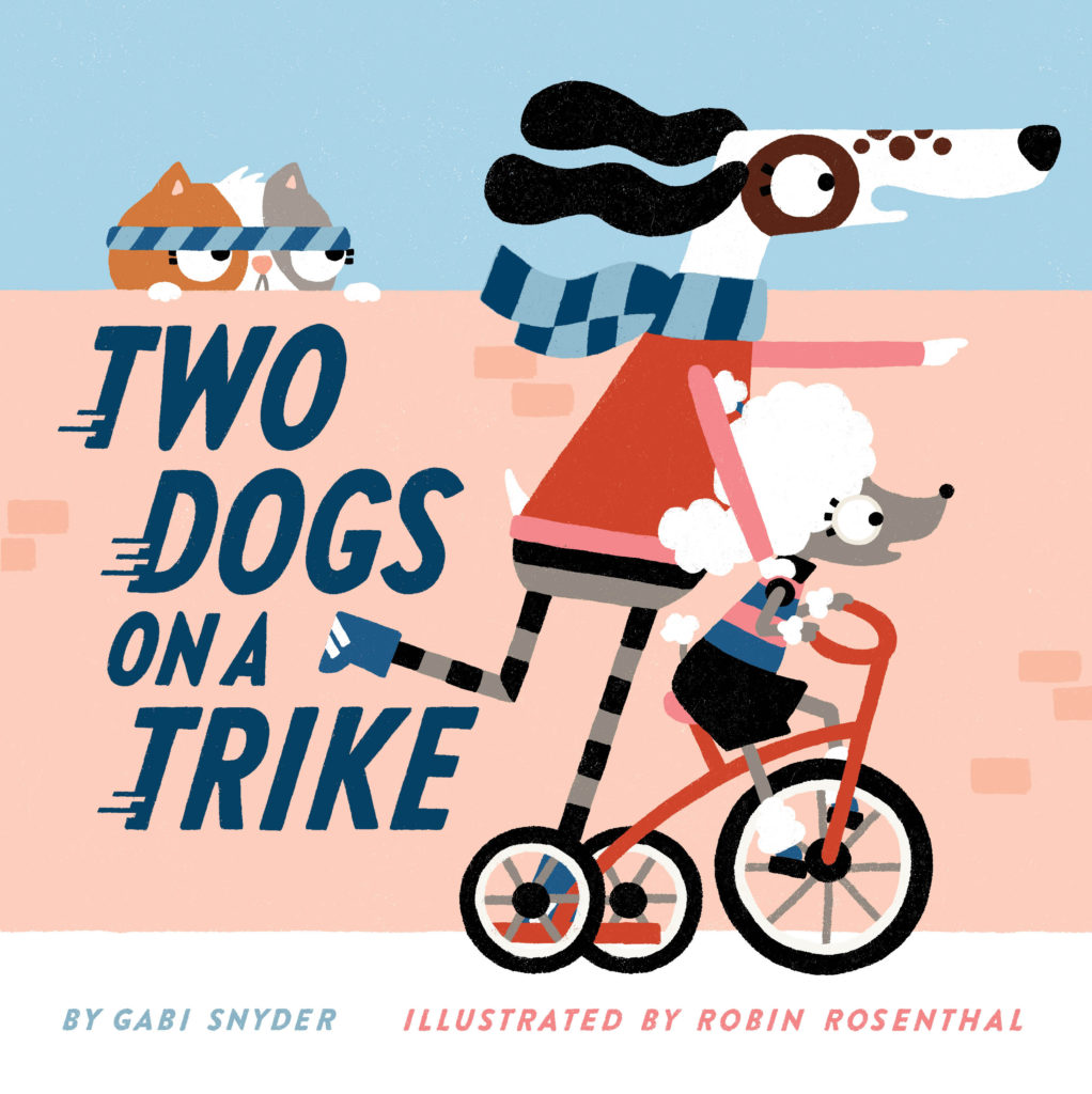 TWO DOGS ON A TRIKE – A counting adventure!
